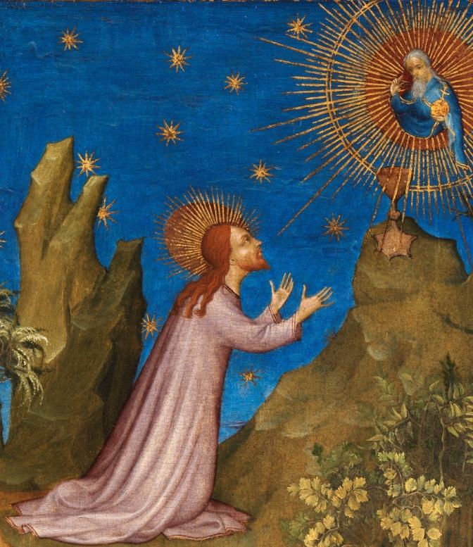Jesus-art-praying